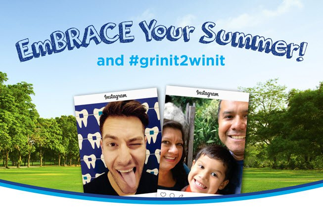 Win prizes at the dentist's office this summer.
